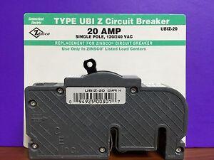 Connecticut Type UBIZ 20amp 1-pole Circuit Breaker Model No UBIZ-20