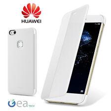 Custodia Originale Per Huawei P10 LITE Smart Cover View BIANCA Flip Case Slim