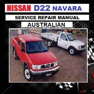 nissan navara d22 australian workshop manual zd30 td25 27 qd32 rh ebay com au D22 Navara 2WD D22 Navara 2WD