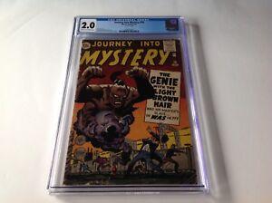 JOURNEY-INTO-MYSTERY-76-CGC-2-0-GENIE-DJINN-STEVE-DITKO-JACK-KIRBY-MARVEL-COMICS