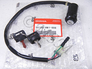 99 04 honda trx400ex genuine original ignition switch w. Black Bedroom Furniture Sets. Home Design Ideas