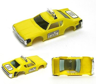 1976 Aurora Afx Magnatraction G-plus G+ Slot Car Matador Taxi Body 1939 Unused Bekwame Vervaardiging