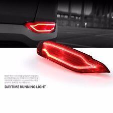 LED Rear Bumper Reflector Brake Light For Hyundai All New Tucson 2016~2017+