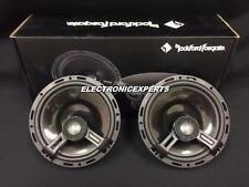 """ROCKFORD FOSGATE POWER T1650 6.75"""" 2 Way 6.5"""" Speakers Aluminum Dome Tweeters"""