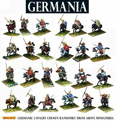 WARLORD GAMES SPQR GERMANIA HORSEMEN SHIPPING NOW