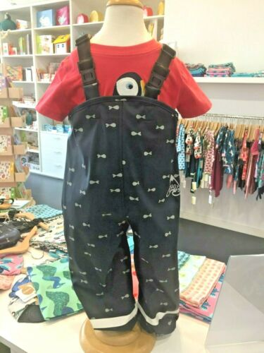 Frugi***Puddle Buster Trouser****organic***Matschhose***1Y-6Y***Fisch***
