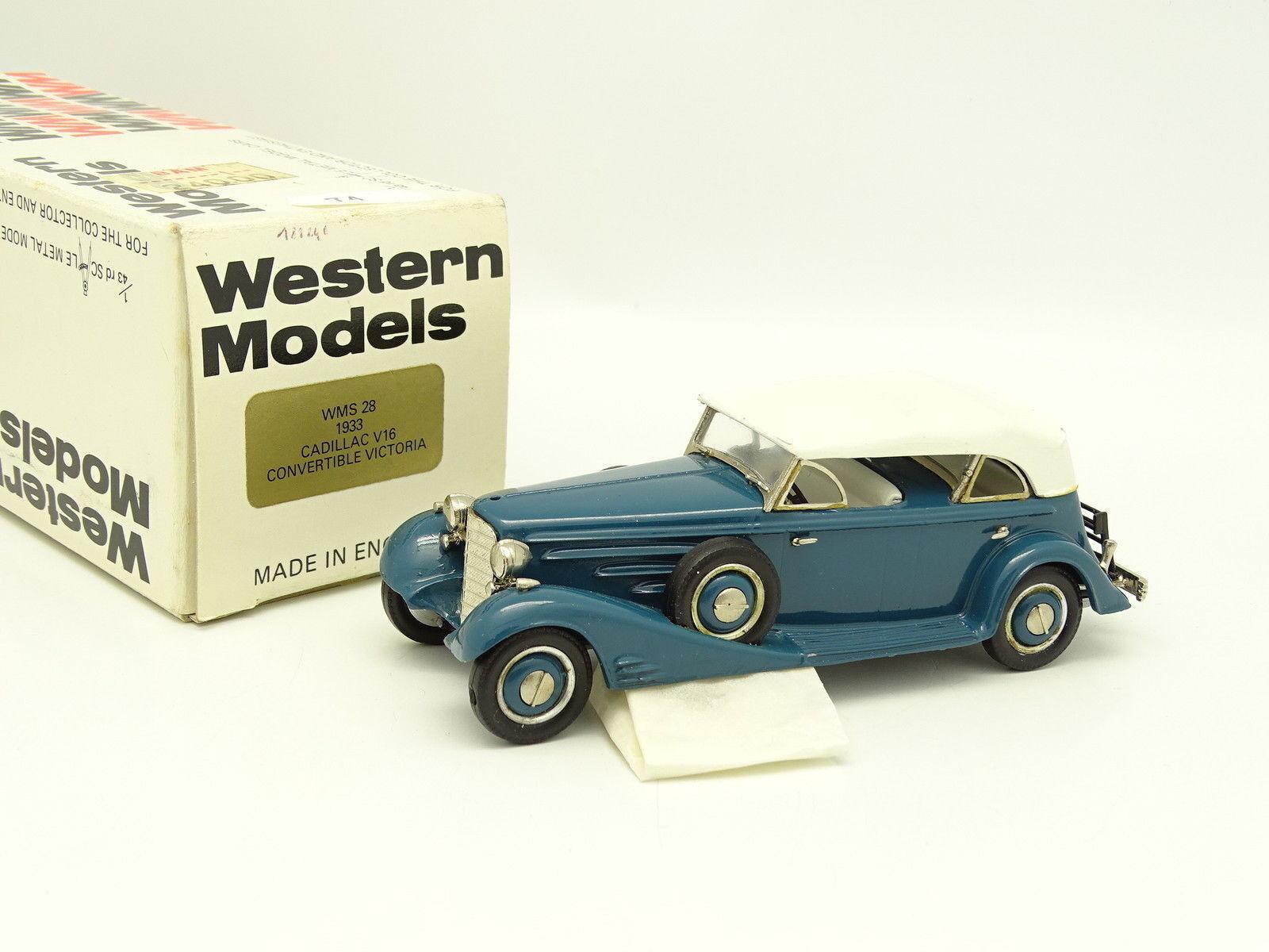 Westliche modelle 1   43 - cadillac v16 victoria Blaue 1933