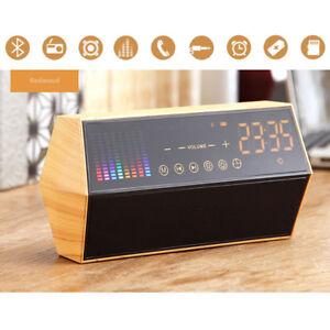 A45-10W-Bluetooth-Lautsprecher-Speaker-mit-TF-Slot-AUX-IN-FM-Radio-Akku