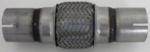 Rohrstutzen geschlitzt 45x100x200 mm Flexrohr Flexstück flexibles Krümmerrohr m