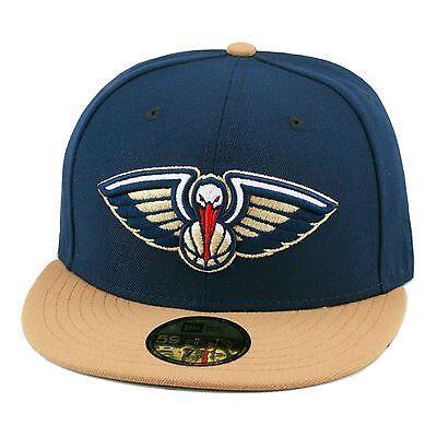 Trendmarkierung New Era Neu Orleand Pelicans Enganliegende Mütze Marineblau/ Weizen/ Grau Hosen Herren-accessoires