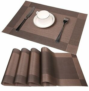 Image Is Loading Table Placemat Settings Place Mat Coasters Serving Mats