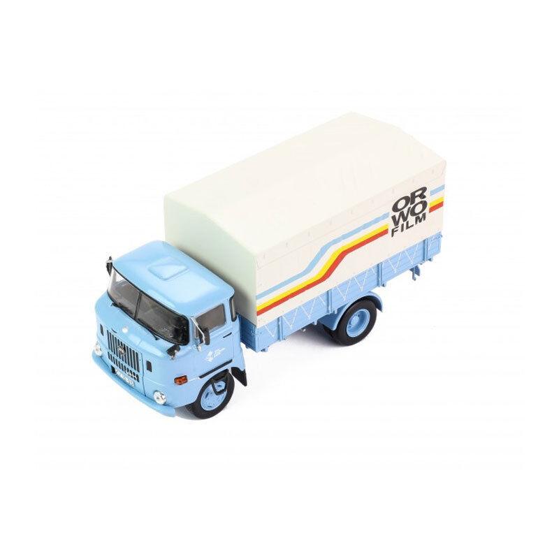IXO tru027 IFA W50 L   ORWO Film   blu bianca YR 1973 Scale 1 43 (214536) NEW °