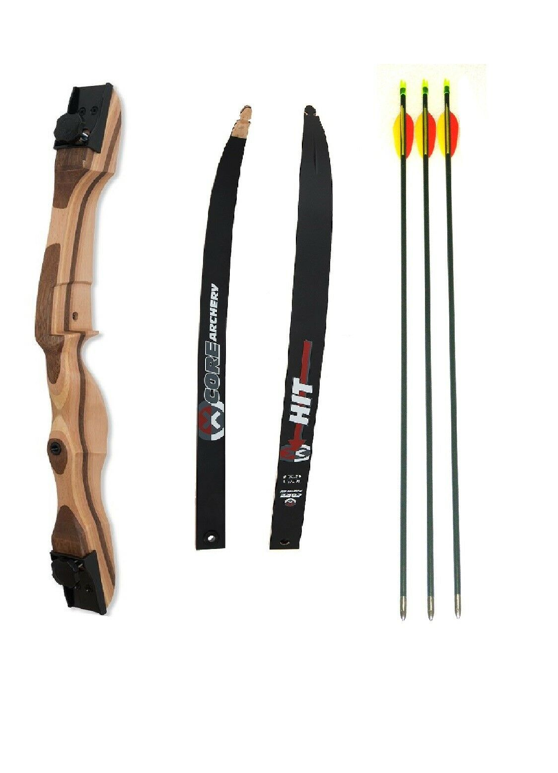 Bogenset Beginners bow recurve bow equipped Core shift itself together can detect