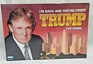 Donald-Trump-The-Board-Game-I-039-m-Back-And-You-039-re-Fired-BRAND-NEW-FACTORY-SEALED