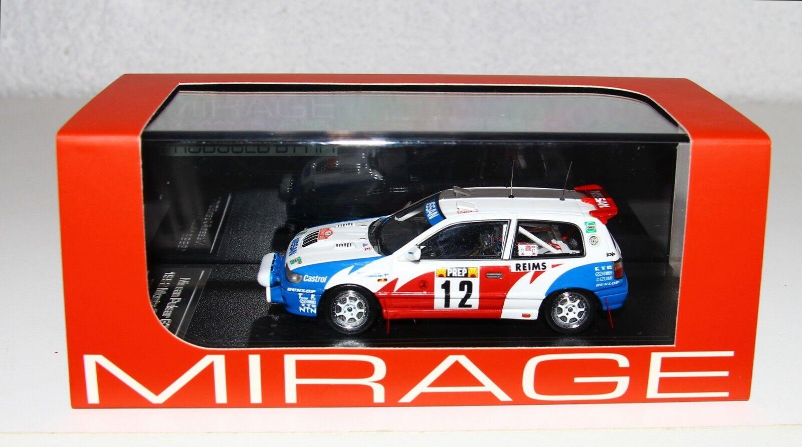 HPI RESIN 8498 1 43 Nissan Pulsar Sunny GTI Rallye Monte Carlo 1992 Makinen RARE