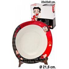 Betty Boop Ceramic Plate, 22cm, NEW