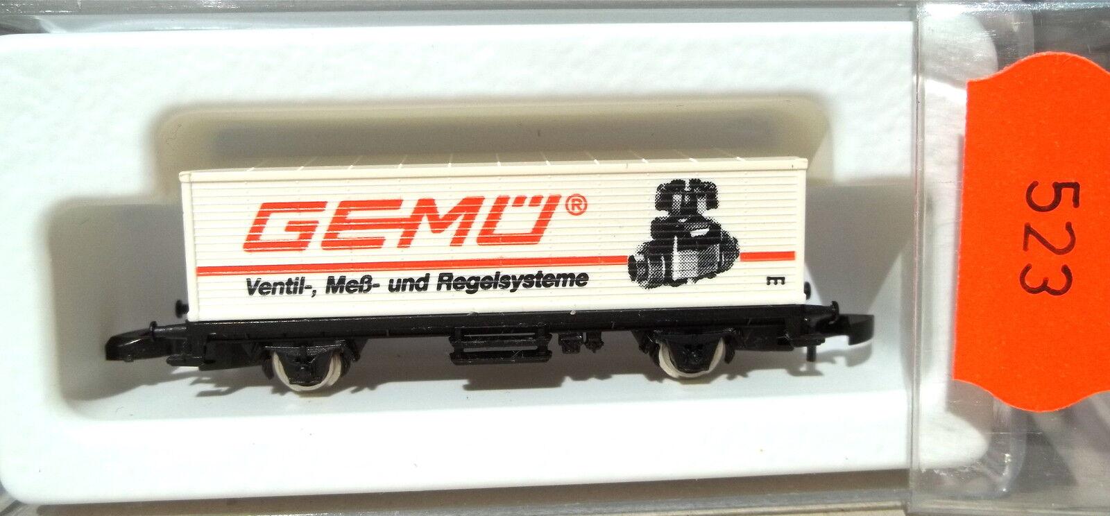Gemü ,Wagon Transport de Conteneurs Kolls 90723 Märklin 8615 Z 1 220 523