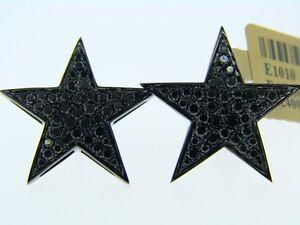 10K-BLACK-GOLD-BLACK-DIAMOND-STAR-STUD-EARRINGS-20-MM