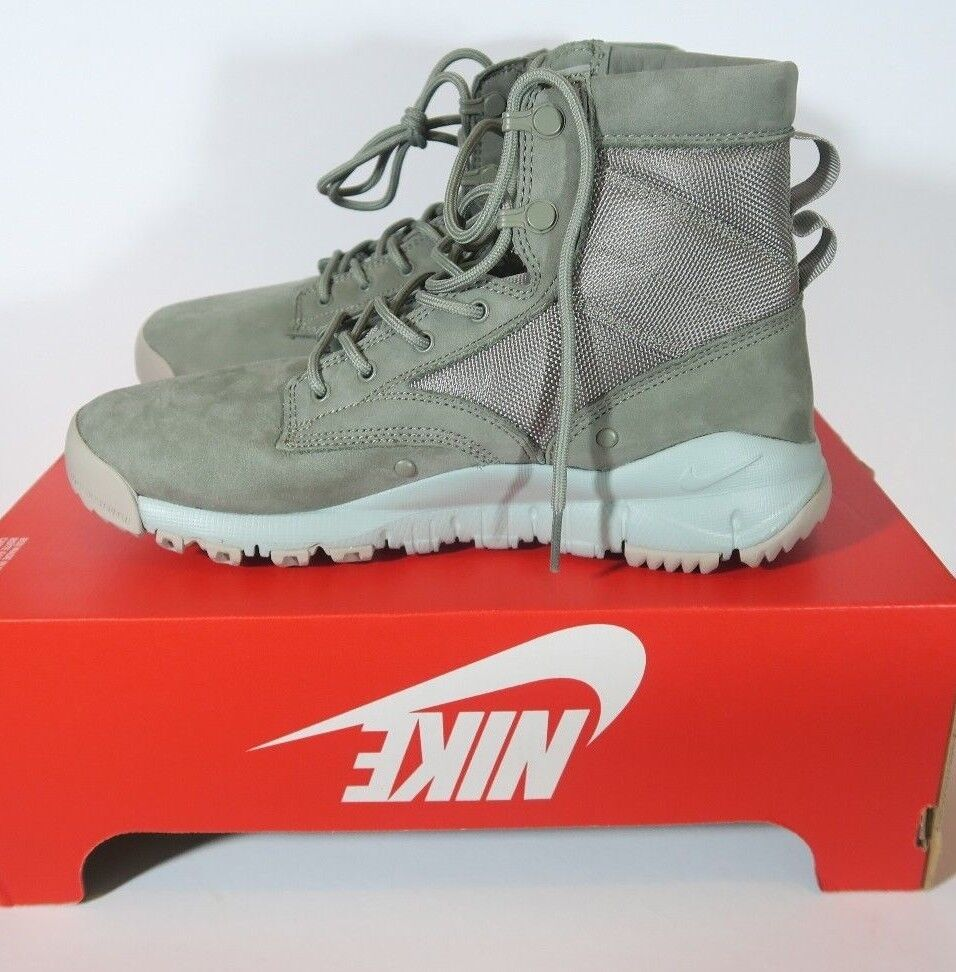NIKE SFB LEATHER NSW 6   SPECIAL FIELD BOOT SIZE 8 DARK STUCCO SAGE 862507 004