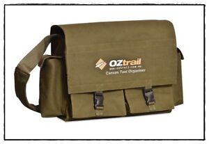 OZtrail-Canvas-Tool-Organiser-Bag-BPC-TOOLO-D-PVC-Carry-All-Camping-4WD-Caravan