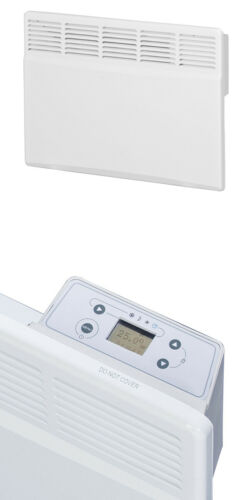 Wand Konvektor Heizkörper Wandgerät Heizgeräte Spule//Band 1000W 2kW IP24 LCD