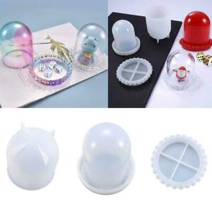 Dice Cup Casting Silicone Mould DIY Craft Making Crystal Resin NEW Mold F3N0