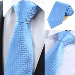 8CM Men Jacquard Woven Classic Tie Necktie Business Wedding Party Ties Colors