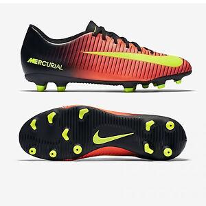 2824f63f6 Nike MERCURIAL VORTEX III FG 831969 870 Col. ROSSO/NERO/GIALLO ...