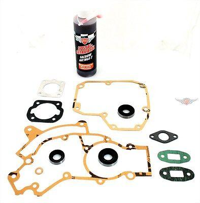 Puch Maxi 2 Gang Motor + Zylinder Dichtung Simmering Öl Satz Mofa Moped Neu