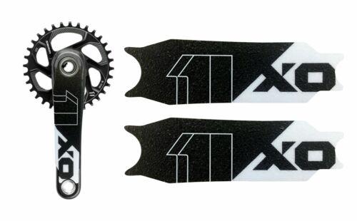 SRAM X01 GRIPPER VINYL CRANK ARM DECAL PROTECTION STICKERS MTB enduro