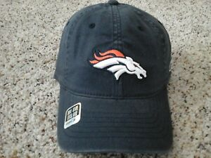 pretty nice e17be 0c8bb ebay image is loading denver broncos reebok nfl authentic sideline hat  467d1 6c5c8