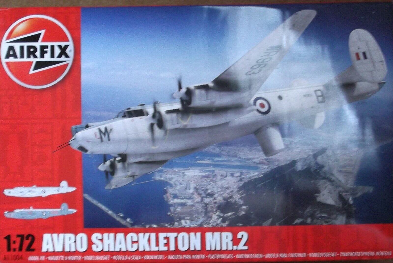 +++ AVRO SHACKLETON MR.2 + 1 72 SCALE KIT by AIRFIX +++