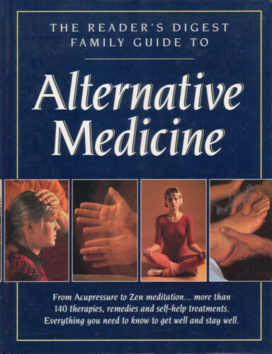 1 of 1 - ALTERNATIVE MEDICINE - FAMILY GUIDE  Readers Digest **GOOD COPY**