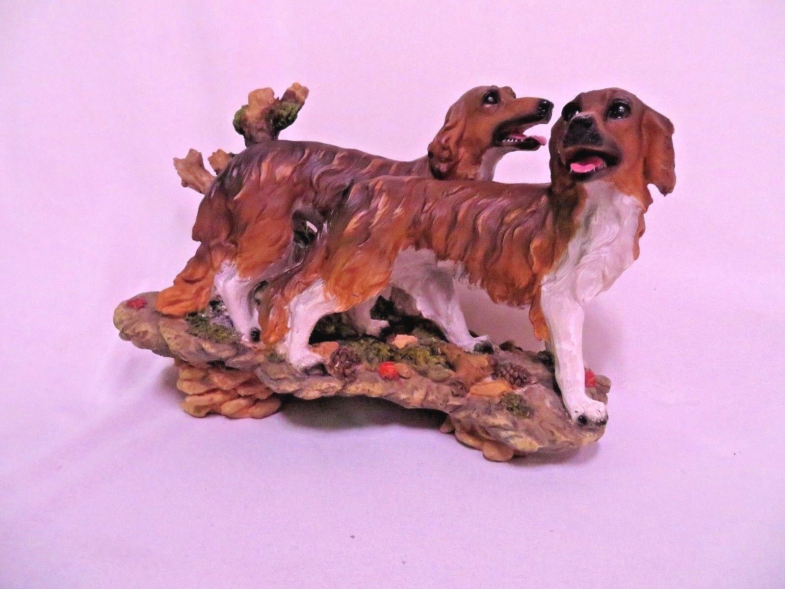 Cani statue cani da da da caccia paio bx t h verosimile