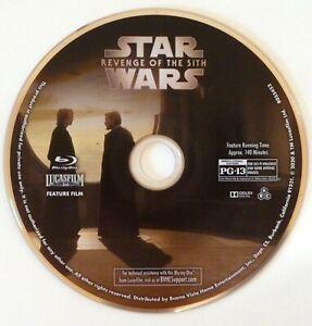 star wars episode iii 3: revenge of the sith 2005, blu-ray disc | ebay