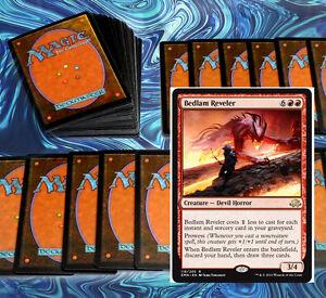 mtg-BLUE-RED-IZZET-SPELLS-DECK-Magic-the-Gathering-rare-60-cards-bedlam-reveler