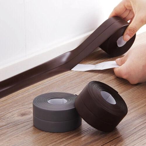 3.2M Bath Wall Corner Sealing Strip PVC Self-Adhesive Kitchen Sink Seal Tape UK