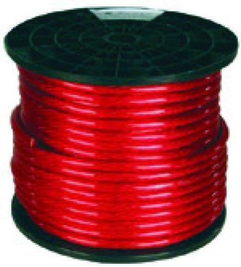 Q Power 100' 4 Gauge Red Primary Wire