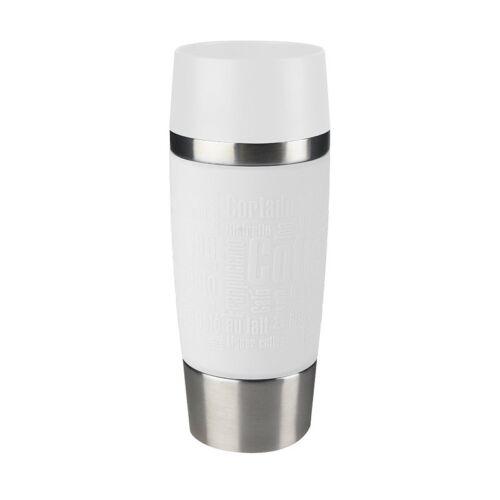 EMSA travel mug gobelet thermos//Isolierbecher//tasse 0,36 L blanc nouveau