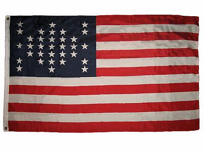 2x3 USA Ft Fort Sumter Flag Union Civil War 33 Star ...
