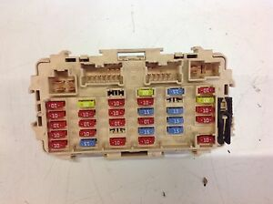 s l300 nissan x trail t30 01 07 2 2 dci fuse box ebay nissan x trail t30 fuse box diagram at readyjetset.co