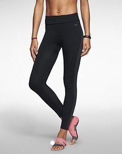 Womens Nike Dri-Fit Knit Training Trousers Pants Gym Fitness Yoga XS ... 9c2ea0fd3