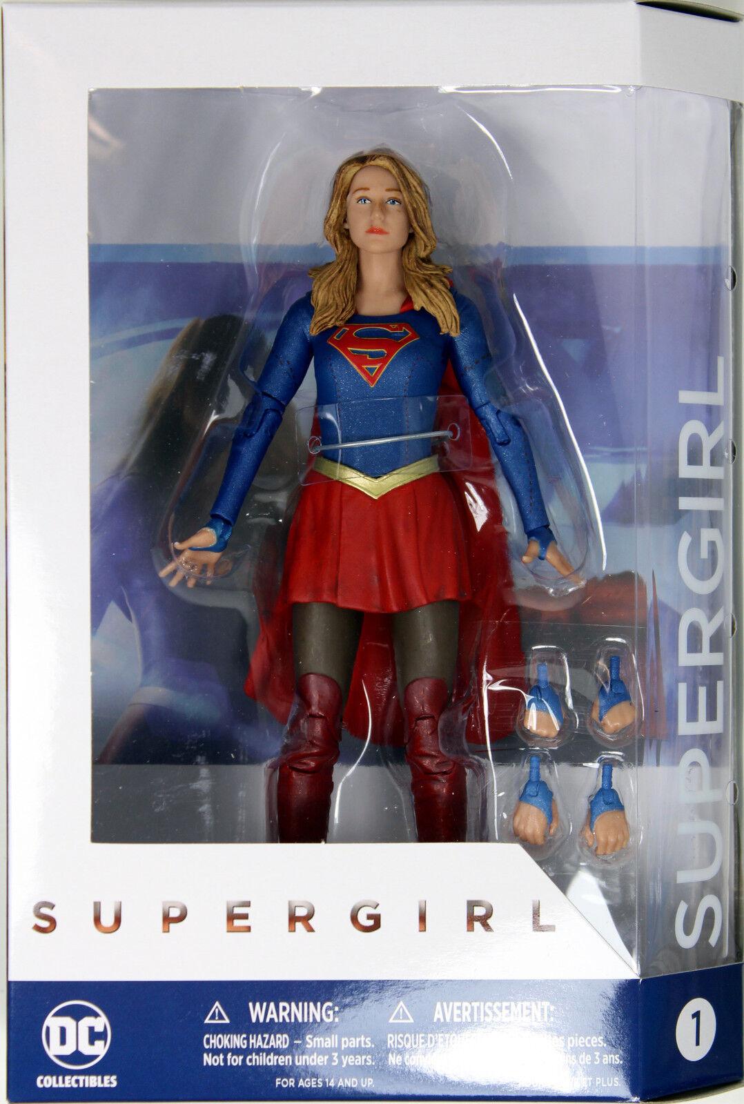 DC Coleccionables  Supergirl Figura de Acción   serie CW TV Melissa de Benoist
