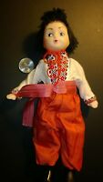 Vintage Awesome Collection Boy-Doll in National UKRAINIAN  Detail Costume Dress.