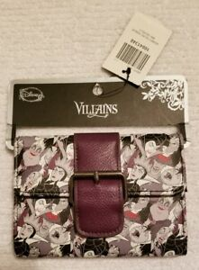 d50f5ba6695 Image is loading Loungefly-Disney-Villains-Wallet-Single-Buckle-Toss-Square-