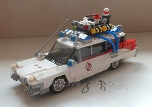 Genuine New Lego Ecto1 Car Split From Set 21108 Ghost Busters - <span itemprop=availableAtOrFrom>Guildford, Surrey, United Kingdom</span> - Genuine New Lego Ecto1 Car Split From Set 21108 Ghost Busters - Guildford, Surrey, United Kingdom