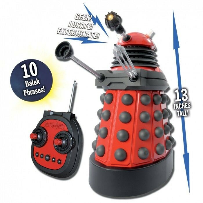Les récompenses de bonne chance du Nouvel Nouvel Nouvel An sont non-stop Doctor Who 13 pouces r/c rouge Dalek drone 47f18b