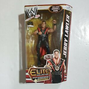 WWE-JERRY-THE-KING-LAWLER-Mattel-ELITE-SERIES-18-WRESTLING-FIGURE-Boxed