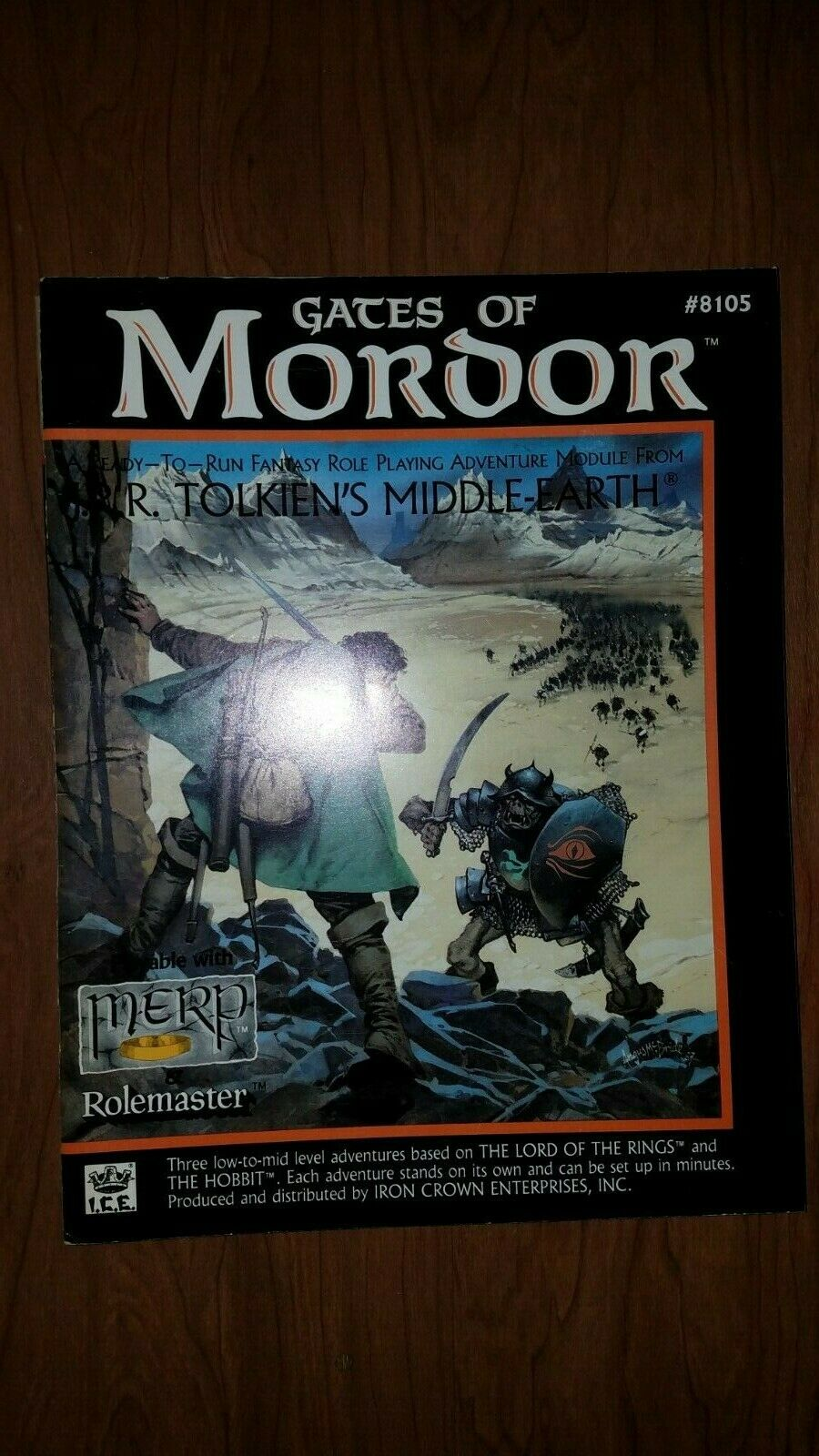 ICE  Middle-Earth Role Playing Rolemaster Module - GATES OF MORDOR