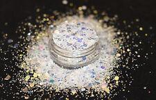Mezcla de brillo hermoso arte en uñas para Acrílico y Gel helado Glitz aplicación